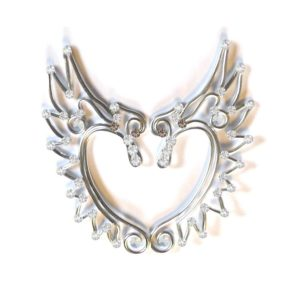 Angel Wings Fantasy Ears Silver Starlight